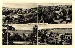 Postcard Tanne Oberharz am Brocken, Trautensteiner Brücke, Bodetalstraße, Freibad