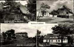 Postcard Neuhaus Fischland Ostseebad Dierhagen, FDGB Heim Lebensfreude, Kinderheim
