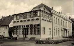 Postcard Bad Sülze in Mecklenburg Vorpommern, Kurhaus, Rheumaheilstätte