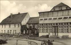 Postcard Bad Sülze in Mecklenburg Vorpommern, Rheumaheilstätte, Seitenansicht