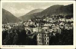 Postcard Friedrichroda im Thüringer Wald, Blick vom Kurhaus