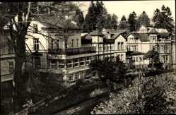 Postcard Friedrichroda im Thüringer Wald, Sanatorium Tannenhof