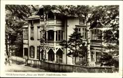Postcard Friedrichroda im Thüringer Wald, FDGB Ferienheim, Haus am Wald
