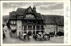 Postcard Georgenthal im Tal der Apfelstädt Thüringen, Hotel Deutscher Hof