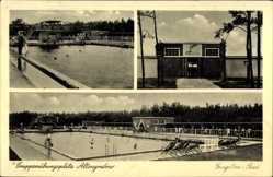 Postcard Altengrabow Möckern, Truppenübungsplatz, Engelien Bad