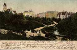Postcard Magdeburg in Sachsen Anhalt, Der Königin Luisengarten