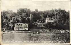 Postcard Lohme auf der Insel Rügen, Restaurant Gift Bude, Franz Burwitz