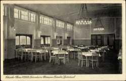 Postcard Schierke Wernigerode am Harz, Ferienheim Hermann Gieseler, Speisesaal