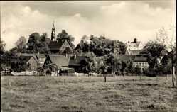 Postcard Röhrsdorf Chemnitz Sachsen, Blick auf den Ort, Kirchturm