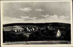 Postcard Einsiedel Chemnitz Sachsen, Totalansicht der Ortschaft, Häuser, Felder