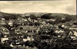Postcard Aue im Erzgebirge Sachsen, Totalansicht der Ortschaft, Häuser