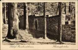 Postcard Reinhardsbrunn Friedrichroda im Thüringer Wald, Klosterpförtchen