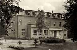 Postcard Bad Wilsnack in der Prignitz, Blick auf das Clara Zetkin Haus