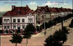 Postcard Naumburg an der Saale, Kaserne des 2. Thür. Feld Art. Regts. Nr. 55