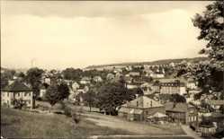 Postcard Wernesgrün Steinberg Sachsen, Teilansicht der Ortschaft