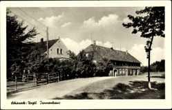 Postcard Schöneck im Vogtland Sachsen, Straßenpartie am Tannenhaus