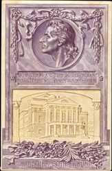 Künstler Ak Weimar in Thüringen, Deutscher Schillerbund, Theater