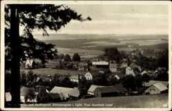 Postcard Altmannsgrün Treuen im Vogtland Sachsen, Totalansicht der Ortschaft