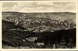 Postcard Johanngeorgenstadt im Erzgebirge Sachsen, Totalansicht der Ortschaft