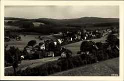 Postcard Sohl Bad Elster im Vogtland, Totalansicht der Ortschaft, Wald