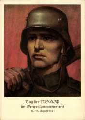 Künstler Ak Hoeck, Krakau, Tag der NSDAP im Generalgouvernement, 15 August 1941