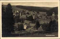 Ak Trautenstein Oberharz am Brocken, Gesamtansicht des Ortes