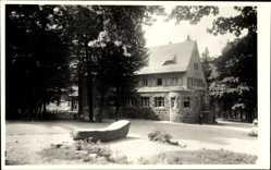 Postcard Ehrenfriedersdorf im Erzgebirge, Blick auf das Berghaus