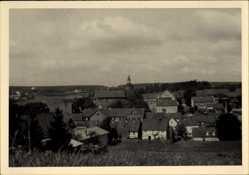 Ak Benneckenstein Oberharz am Brocken, Blick vom Süden auf den Ort