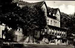 Ak Altenbrak Thale im Harz, Partie am Hotel Weißes Roß