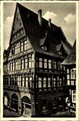 Ak Nordhausen an der Zorge Thüringen, Rosenthalsches Haus, Fachwerkhaus