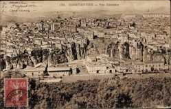 Postcard Constantine Algerien, Vue générale, Gesamtansicht des Ortes