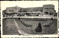 Postcard Blankenberge Westflandern, La Gare, De Statie, Bahnhof