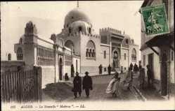 Ak Algier Alger Algerien, La Nouvelle Medersa, Moschee