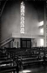 Postcard Colomb Béchar Algerien, Eglise Notre Dame du Sahara