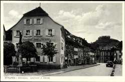 Postcard Staufen im Breisgau Hochschwarzwald, Gasthof zur Krone, J. L. Maier