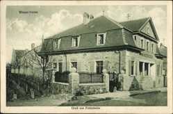 Ak Freinsheim im Kreis Bad Dürkheim, Partie am Winzer Verein