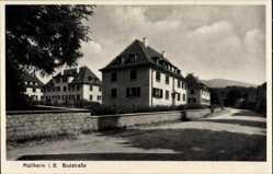 Postcard Müllheim im Kreis Breisgau Hochschwarzwald, Häuser in der Badstraße
