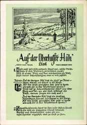 Lied Ak Oberhof im Thüringer Wald, K. Müller, H. Roth, Auf der Oberhofer Höh