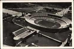Ak Berlin Charlottenburg, Fliegeraufnahme, Olympia Stadion, Reichssportfeld