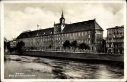 Foto Ak Wrocław Breslau Schlesien, Blick auf die Universität