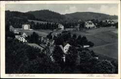 Postcard Bad Charlottenbrunn Schlesien, Villen am Karlshain, Landschaft