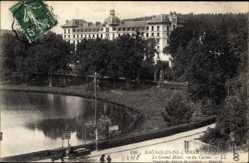 Ak Bagnoles de L'Orne Orne, Le Grand Hotel, vu du Casino