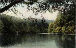 Postcard Międzyzdroje Misdroy Pommern, Blick auf den Jordansee