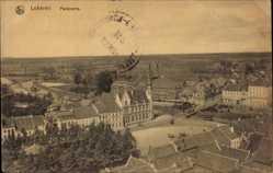 Postcard Lokeren Ostflandern, Panoramablick auf die Stadt, Marktplatz