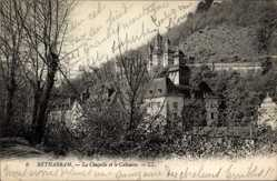 Ak Lestelle Betharam Pyrénées Atlantiques, La Chapelle et le Calvaire