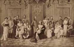 Ak Das deutsche Kaiserhaus, Kaiser Wilhelm II., Auguste Viktoria, NPG 5385