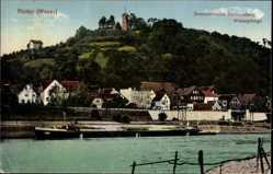 Postcard Vlotho in Nordrhein Westfalen, Sommerfrische Amtshausberg