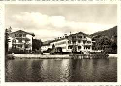 Postcard Rottach Egern im Kreis Miesbach Oberbayern, Hotel Bachmair am See