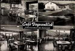 Postcard Oberrotweil am Kaiserstuhl Vogtsburg, Cafe Vogesenblick, R. Wagener