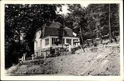 Postcard Uffeln Vlotho in Nordrhein Westfalen, Forsthaus Buhn